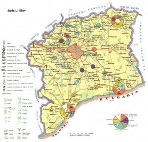 Harta Judetului Ilfov Vazuta Din Satelit Oferte Litoral 2020