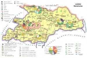 Harta Judetului Maramures Vazuta Din Satelit Oferte Litoral