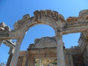 imagini de la efes turcia