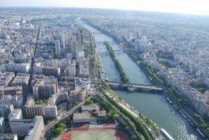 Fotografii din Turnul Eiffel, Paris, France, vazute de la ultimul nivel 2