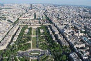 Fotografii din Turnul Eiffel, Paris, France, vazute de la ultimul nivel 4