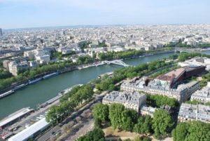 Fotografii din Turnul Eiffel, Paris, France, vazute de la ultimul nivel 6