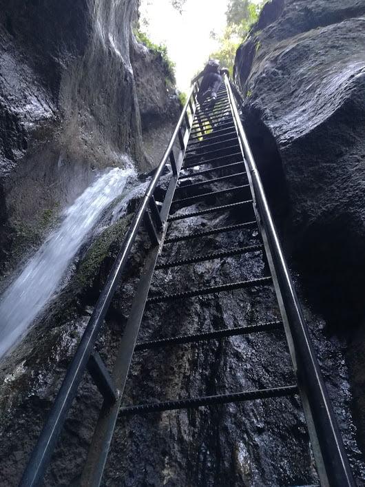 Imagine scara de la canionl 7 scari