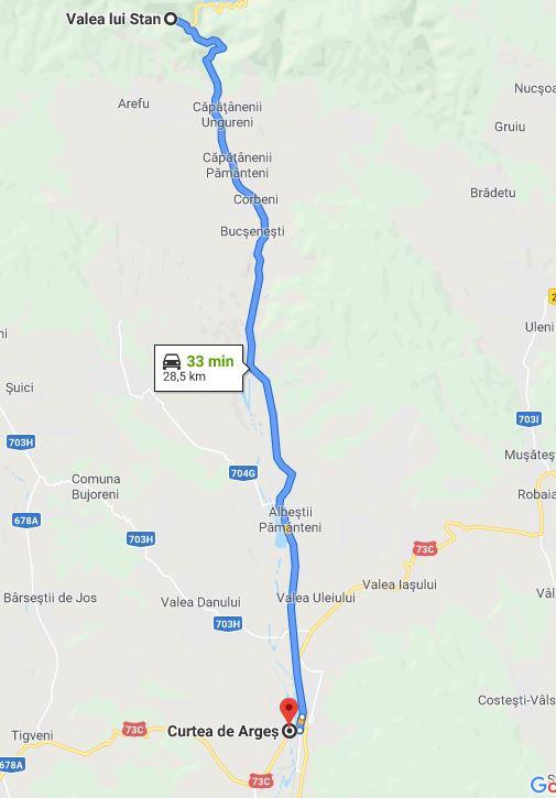 Traseul Valea lui Stan din Argeș, Transfăgărășan 7