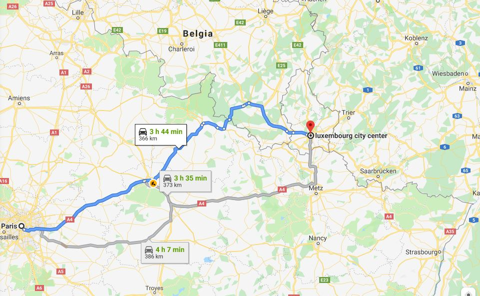 Obiective turistice în Luxemburg, imagini și informații utile 1