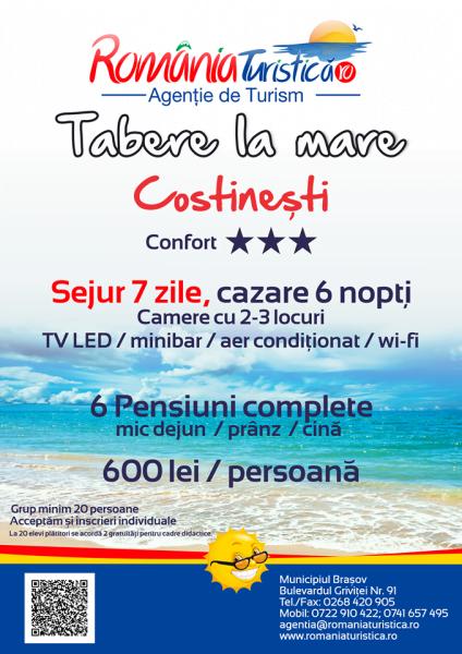 Tabara de Vara la Mare – Costinesti, 2020