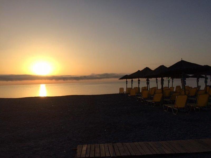 Vacanta Prelungita plaja in Grecia- La Poalele Muntelui Olimp – August 2020