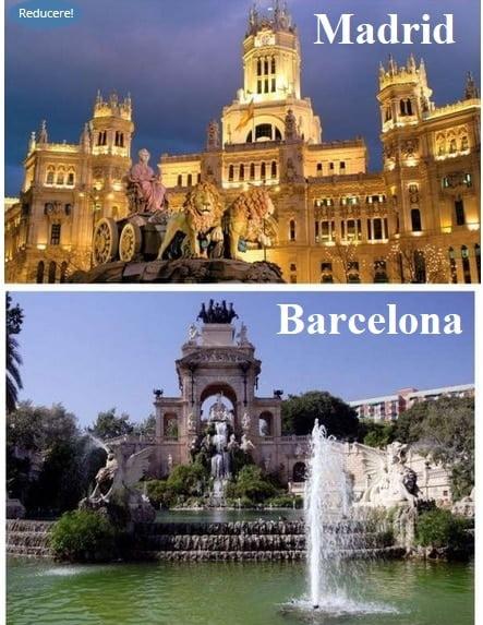 Vacanta sejur circuit Barcelona si Madrid