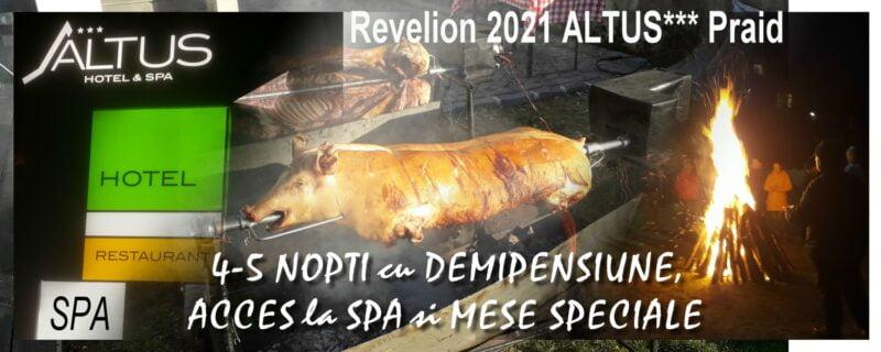 Revelion 2020 la ALTUS*** Hotel & SPA Praid