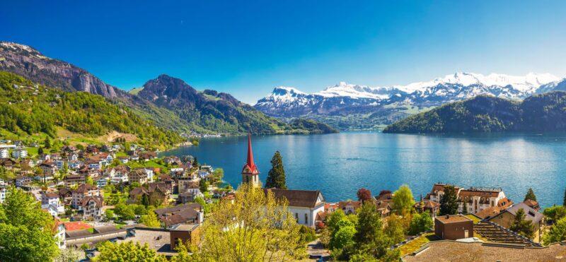 Elvetia- Tara Cantoanelor cu Lacurile Como si Lugano – 7 zile Avion – Iulie 2021 – A doua varianta