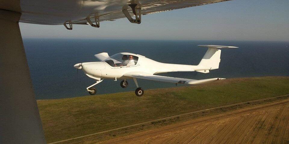 O buna idee de cadou, Survol de placere cu avionul la Marea Neagra 4