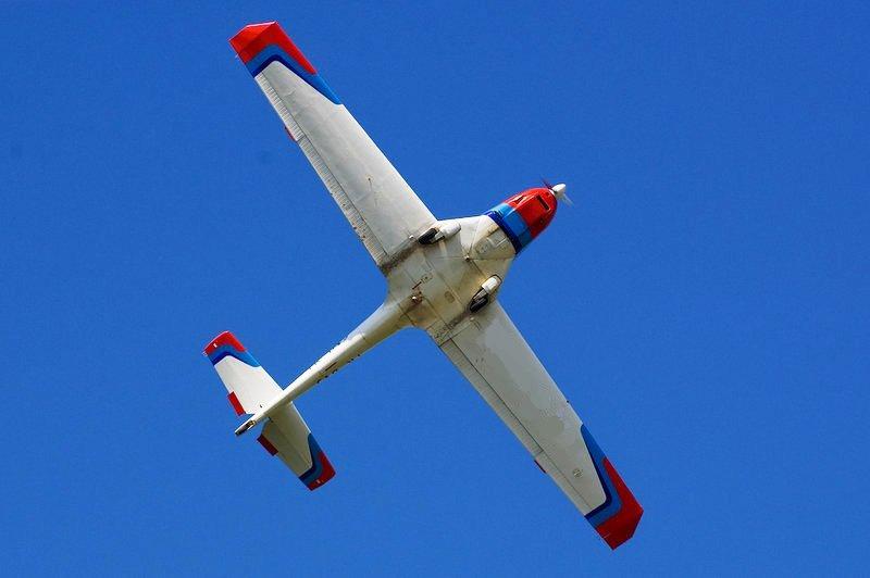 O buna idee de cadou, Lectie de zbor cu avionul in Targu Jiu 2