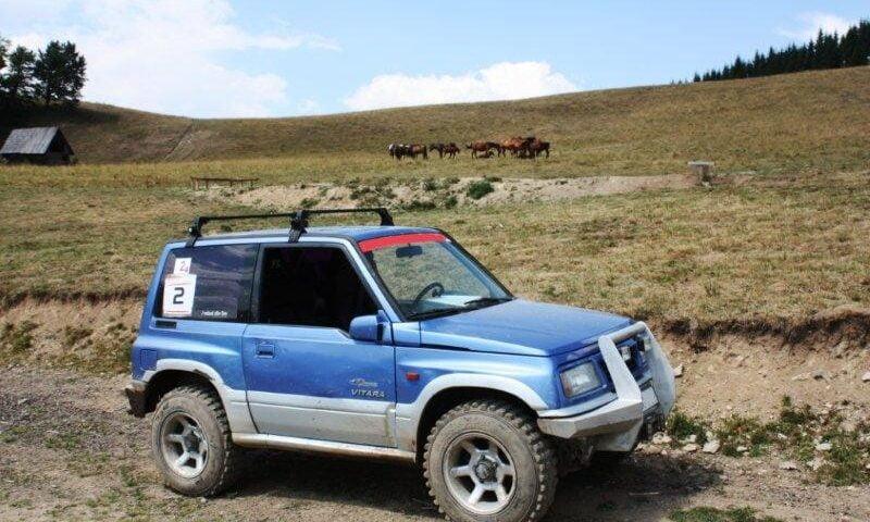 O buna idee de cadou, Lectie de off-road in Sighisoara 4
