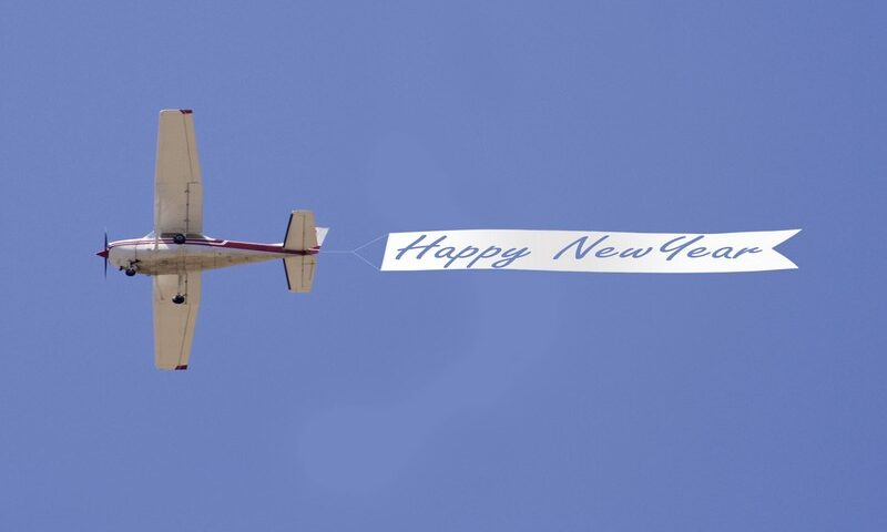 O buna idee de cadou, Sky banner! Mesaj pe cer in Galati 4