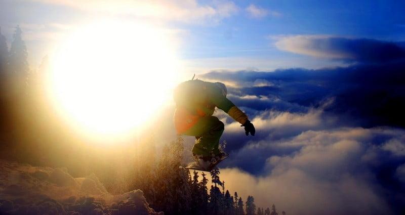 O buna idee de cadou, Lectie de initiere in snowboard in Cluj-Napoca 4