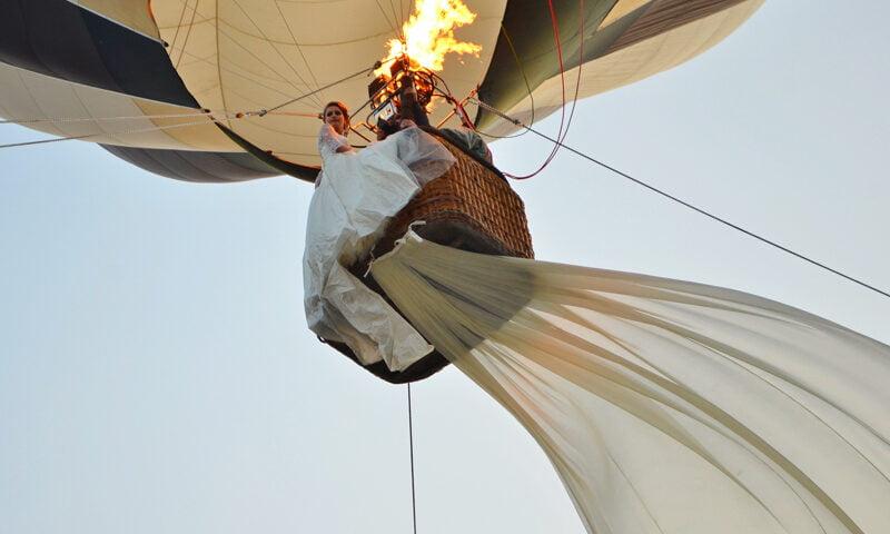 O buna idee de cadou, Zbor romantic cu balonul in Cluj Cerere in Casatorie 4