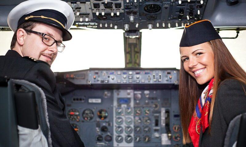 O buna idee de cadou, Lectie de zbor cu avionul in Craiova 4