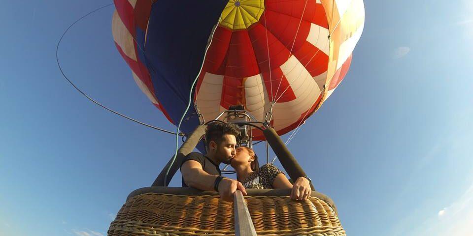 O buna idee de cadou, Zbor cu balonul- Cerere in casatorie 4