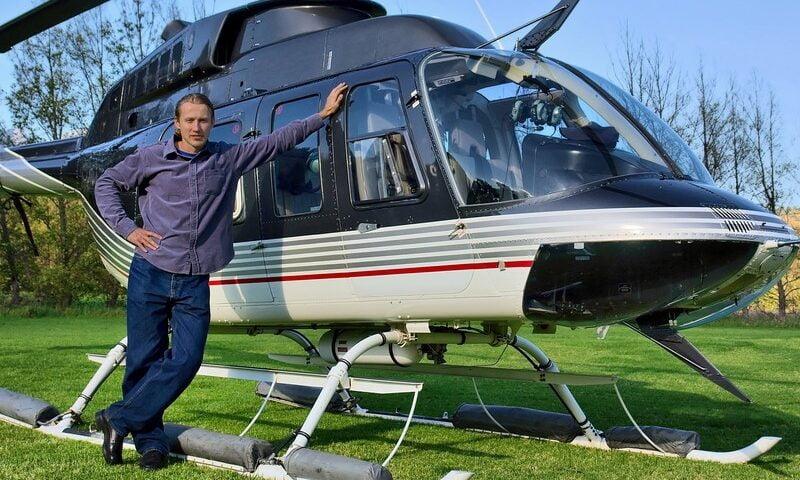 O buna idee de cadou, Lectie heli golf in Bucuresti 4