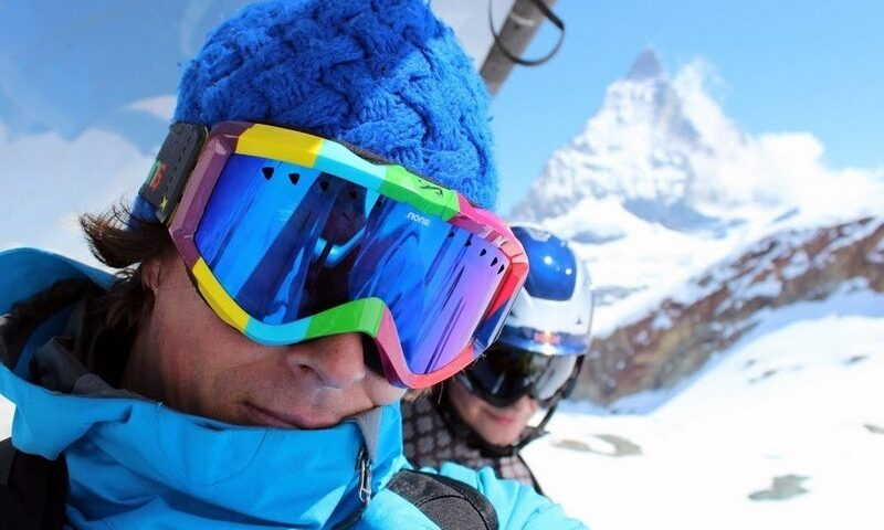 O buna idee de cadou, Lectie de initiere in ski in Sinaia 4