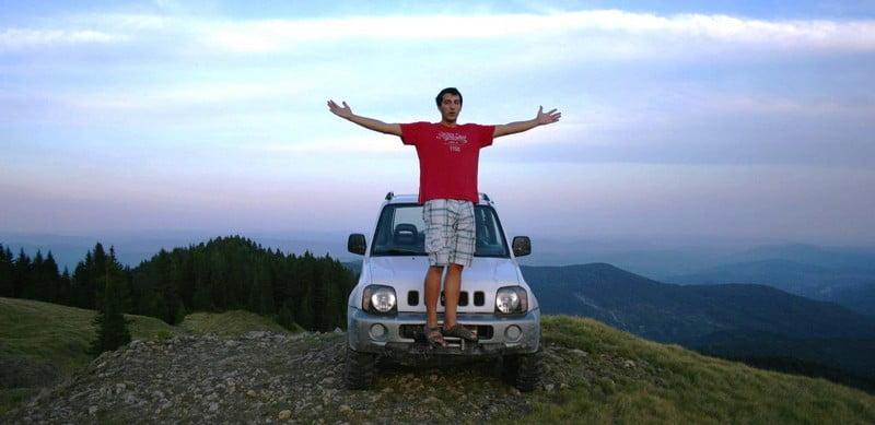 O buna idee de cadou, Lectie de off-road in Ploiesti 4