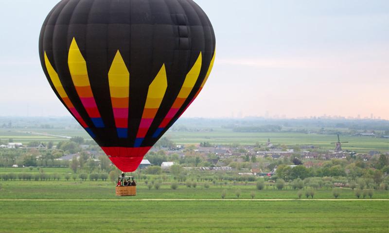 O buna idee de cadou, Lectie de zbor cu balonul in Timisoara 4