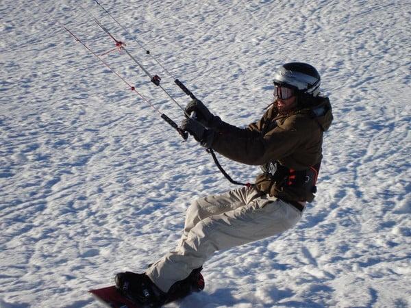 O buna idee de cadou, Initiere in snowkiting in Cluj-Napoca 4