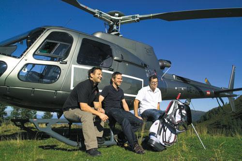O buna idee de cadou, Heli golf in Bucuresti 4