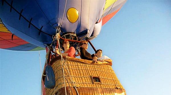 O buna idee de cadou, Zbor cu balonul in Bucuresti 4