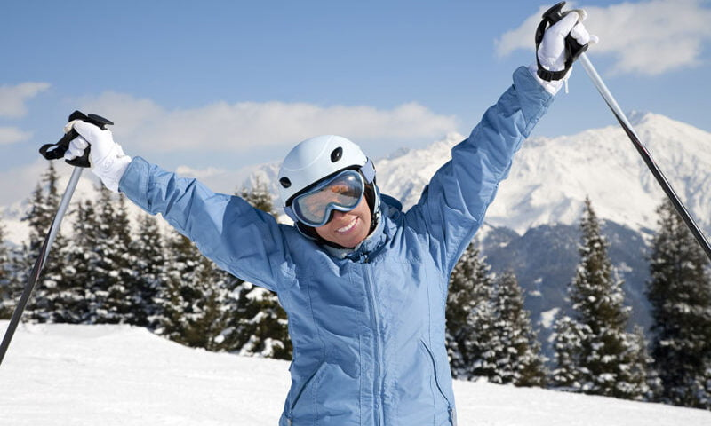 O buna idee de cadou, Lectie de initiere in ski in Cluj-Napoca 4