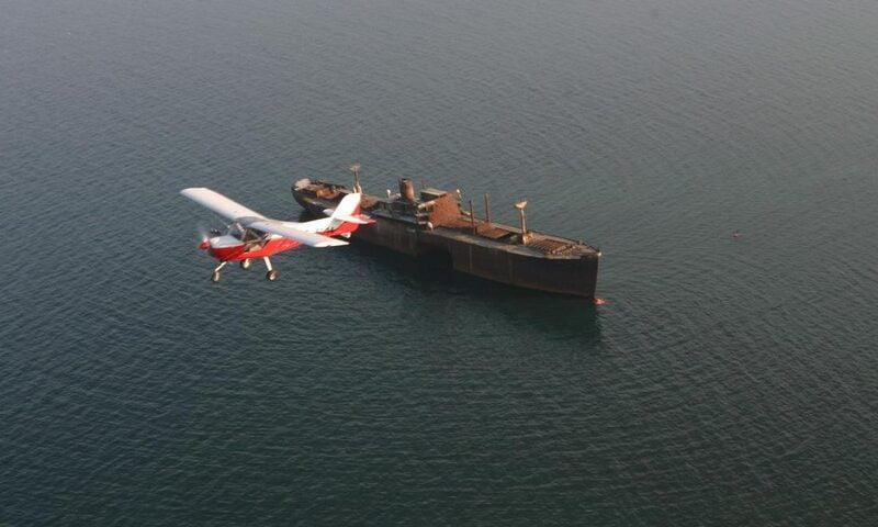 O buna idee de cadou, Survol de placere cu avionul in Constanta 4