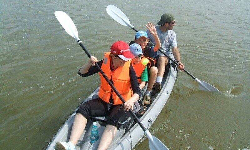 O buna idee de cadou, Ture cu canoe pentru familii pe Neajlov 4
