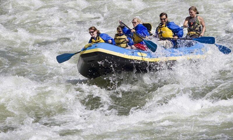 O buna idee de cadou, White water rafting 4