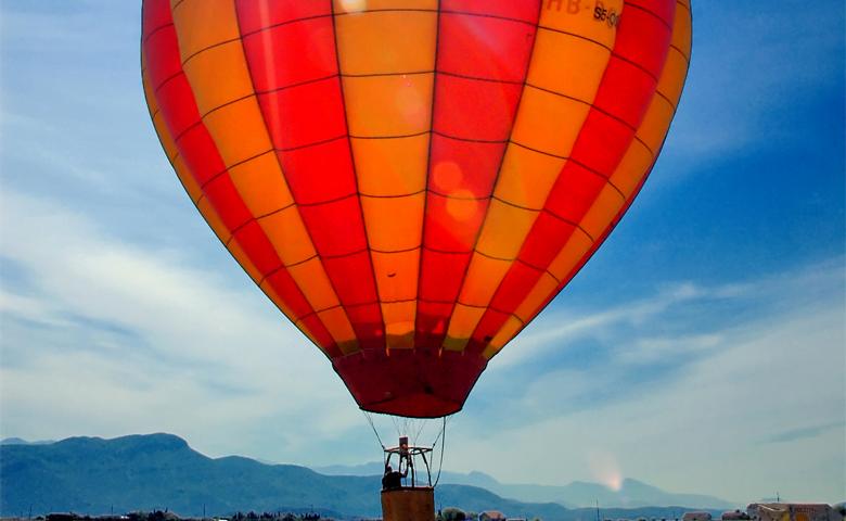 O buna idee de cadou, Zbor cu balonul in Timisoara 4