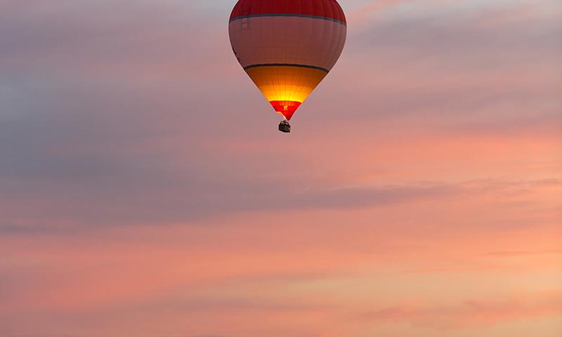O buna idee de cadou, Zbor cu balonul in Arad 4