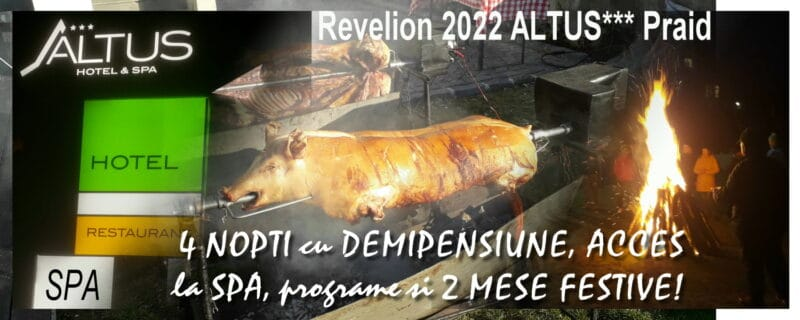 Revelion 2022 la ALTUS*** Hotel & SPA Praid