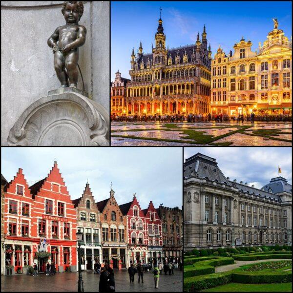 Calatorie romantica Bruxelles-Brugge-Amsterdam