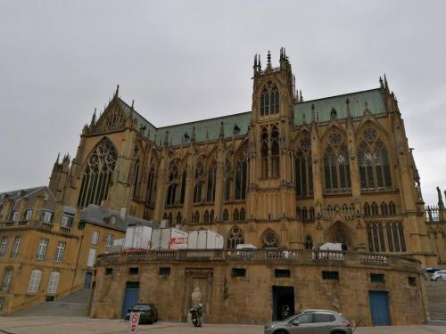 imagini catedrala Saint-Etienne Metz,France
