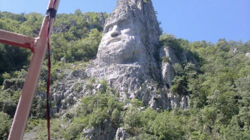 Statuia lui Decebal de la cazane