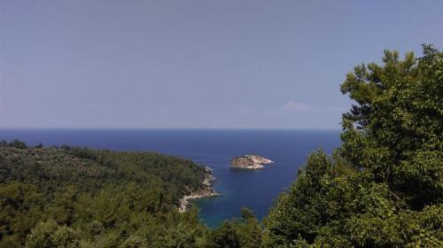 peisaj insula Thassos