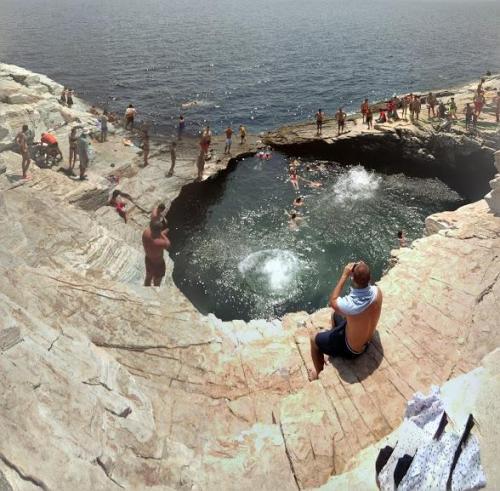 piscina sirenelor thassos